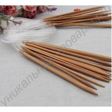 Набор из 18 пар бамбуковых спиц