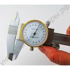 Штангенциркуль с часовым индикатором