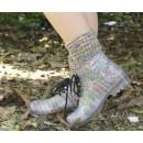 Прозрачные силиконовые ботинки