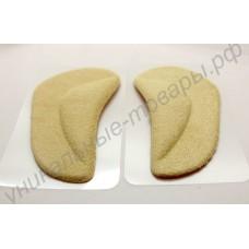 Детские ортопедические стельки с тканевым покрытием, 1 пара