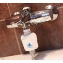 Фильтр на кран для очистки воды от хлора