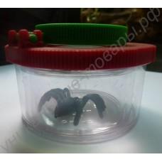 Увеличительная баночка для ловли и изучения насекомых