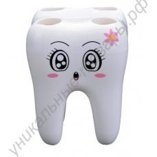 Забавная подставка для зубных щеток