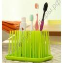 Подставка для зубных щеток в виде травы