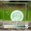 Сувенир одуванчик в кристалле