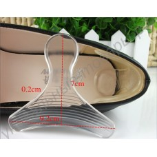 Силиконовые вставки в туфли с поддержкой пятки, 1 пара