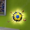 Настенный светильник в форме мяча