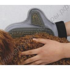 Варежка-массажер для кошек и собак