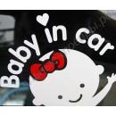 Наклейка-стикер Baby in car