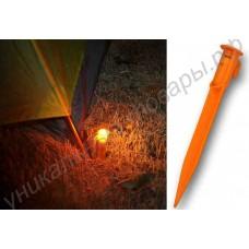 Фонарик - колышек для палатки