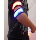 Светодиодный браслет для безопасности