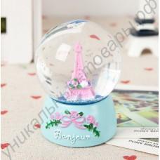 Хрустальный шар с эйфелевой башней