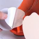 Ультратонкие наклейки в переднюю часть стопы из полушерсти