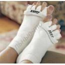 Домашние массажные носки с разделителями пальцев