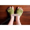 Массажные носки-корректоры на переднюю часть стопы для сна