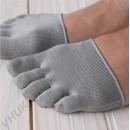 Шелковые полуноски «5 пальчиков» на переднюю часть стопы