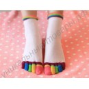 """Женские носки """"5 пальчиков"""" разноцветные"""
