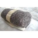 Турмалиновое полотенце со стильным принтом 35 х 75
