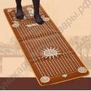 Турмалиновый массажный коврик с оздоровительным эффектом 150 х 50 см
