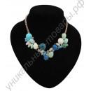 Турмалиновое ожерелье «Морской берег» с оздоровительным эффектом