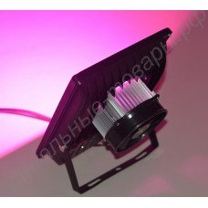 """Фитопрожектор для теплиц, домашних флорариумов, оранжерей """"Авиор"""", с активным охлаждением фитодиода реальной мощностью 50Вт"""