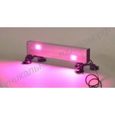"""Светильник светодиодный полного спектра на надёжных присосках для освещения рассады и комнатных растений на подоконнике """"Авва"""" 40-60Вт"""