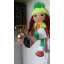 Вязаные куклы ручной работы