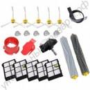 Набор экстракторов для спутывания мусора, боковые щетки и Hepa фильтры для пылесосов iRobot Roomba 800 Series 870 880 900 Series 980