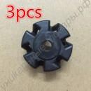 Пластиковый вал 3шт для блендера Philips HR2003 HR2004 HR2006