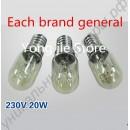 Лампочки для микроволновки 3шт 230В 20Вт