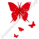 Эксклюзивные настенные часы-Бабочки