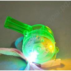 Светящийся (мигающий) LED свисток