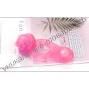Розовое виброкольцо для пениса