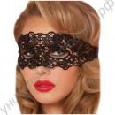 Очаровательная сексуальная кружевная маска на глаза