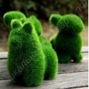 Фигурки из травы