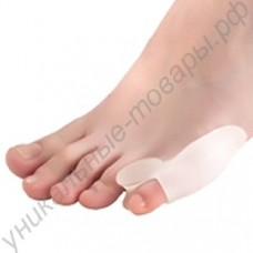 Силиконовый протектор для мизинца ноги с разделителем