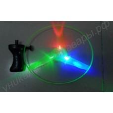 Летающая тарелка со светодиодами