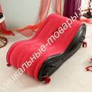 Красный надувной диван для секса