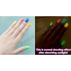 Флуоресцентный (светоотражающий) лак для ногтей