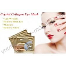 Коллагеново-плацентарная маска от чёрных кругов вокруг глаз и морщин