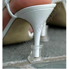 Силиконовая насадка на каблук, шпильку