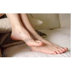 Носки для педикюра (японские носочки, беби фут, маска для ног, пилинг-носочки), 1 пара