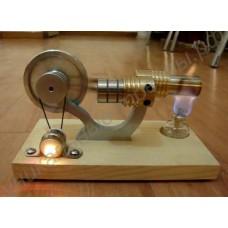 Двигатель Стирлинга со светодиодом