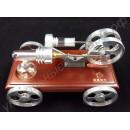 Игрушечная машинка с двигателем Стирлинга