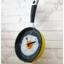 Часы в виде сковороды с яичницей