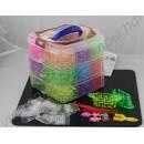 Набор для создания украшений Loom Bands (резиночки для плетения), 5400 шт.